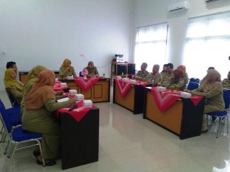 Kunjungan Kerja Dinas Kearsipan dan Perpustakaan Kabupaten Cilacap
