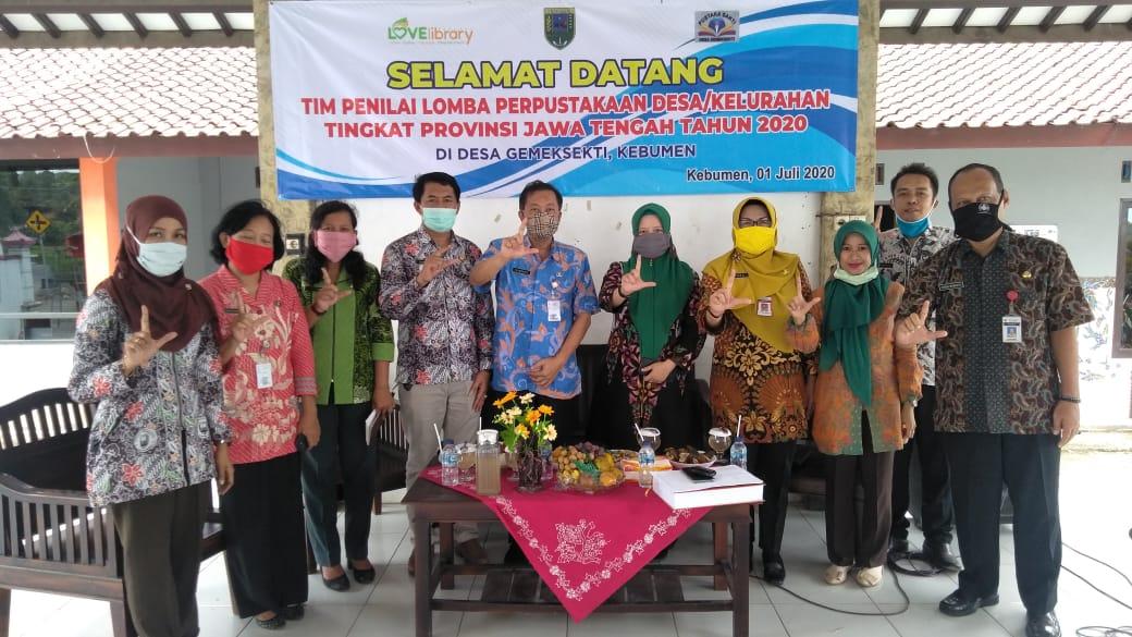 """Perpusdes """"Pustaka Sakti"""" Gemeksekti Binaan Perpustakaan Daerah Kebumen Masuk Nominasi 6 Besar Lomba Perpusdes Tingkat Provinsi Jawa Tengah Tahun 2020"""