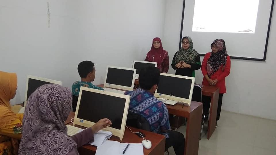 Pelatihan Pengelola Perpustakaan MI kerjasama dengan Kemenag Kabupaten Kebumen