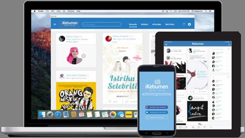 iKebumen - Aplikasi Perpustakaan Digital Dinas Kearsipan dan Perpustakaan Kabupaten Kebumen